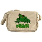 Ribbit Frog Messenger Bag