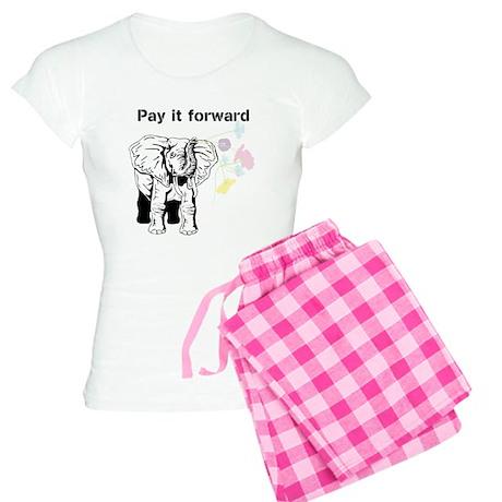 Bernie the elephant Women's Light Pajamas