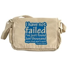I Have Not Failed Messenger Bag