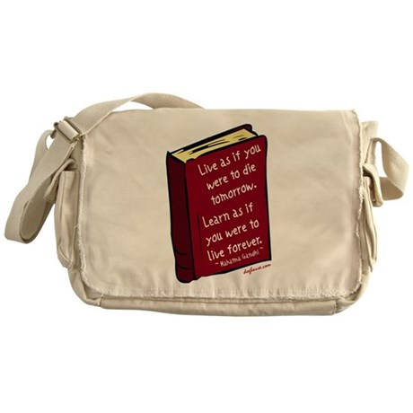 Live Messenger Bag