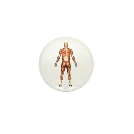 Visible Man Back Mini Button