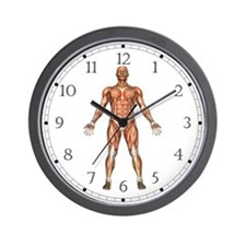 Visible Man Wall Clock
