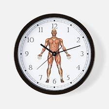 Visible Man Wall Clock