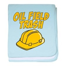 Oil Field Trash baby blanket