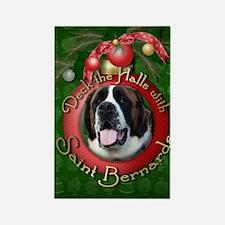 Christmas - Deck the Halls - St Bernards Rectangle