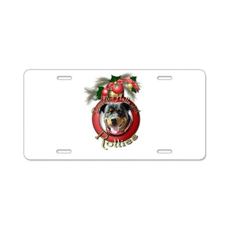 Christmas - Deck the Halls - Rotties Aluminum Lice