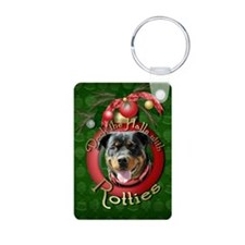 Christmas - Deck the Halls - Rotties Keychains