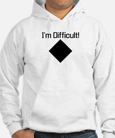 Unique Funny skiing Hoodie
