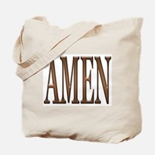 Amen Tote Bag