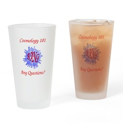 Cosmology 101 Drinking Glass