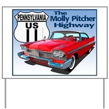 Unique Molly pitcher Yard Sign
