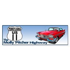 Unique Molly pitcher Bumper Sticker