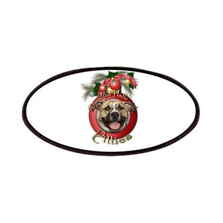 Christmas - Deck the Halls - Pitbull Patches