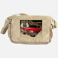 Unique Highway 99 Messenger Bag