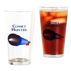 Comet Hunter Drinking Glass