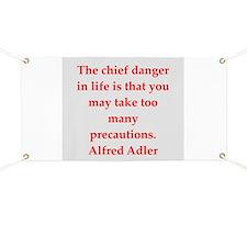 Alfred Adler quotes Banner