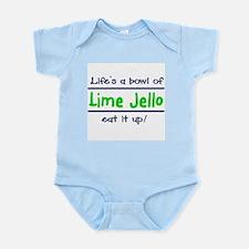 Lime Jello Infant Creeper