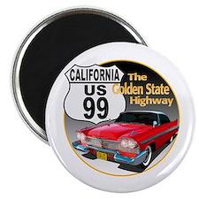 Cute Highway 99 Magnet