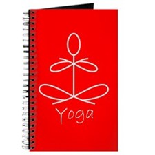 Yoga in Red Journal