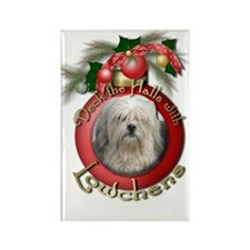 Christmas - Deck the Halls - Lowchens Rectangle Ma