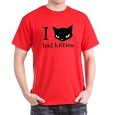 I Heart Bad Kitties T-Shirt