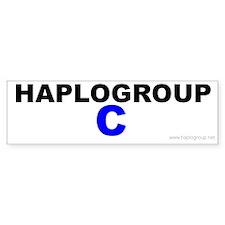 Haplogroup C Bumper Bumper Sticker