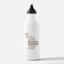 Veganism / Vegetarianism Water Bottle