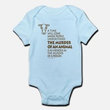 Veganism / Vegetarianism Infant Bodysuit