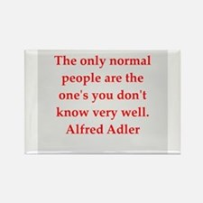 Alfred Adler quotes Rectangle Magnet