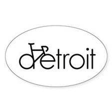 Bike Detroit Decal