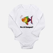 I'm A Keeper Baby Outfits