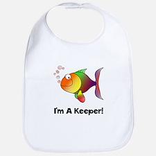 I'm A Keeper Bib