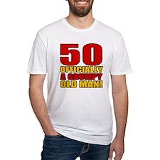 Grumpy 50th Birthday Shirt