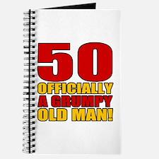Grumpy 50th Birthday Journal