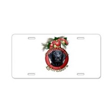 Christmas - Deck the Halls - Labradors Aluminum Li