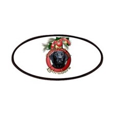 Christmas - Deck the Halls - Labradors Patches
