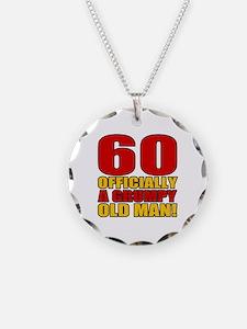 Grumpy 60th Birthday Necklace