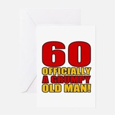 Grumpy 60th Birthday Greeting Card