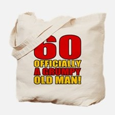 Grumpy 60th Birthday Tote Bag