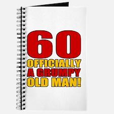 Grumpy 60th Birthday Journal