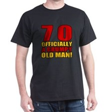 Grumpy 70th Birthday T-Shirt