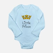 Little Prince Long Sleeve Infant Bodysuit