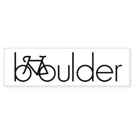Bike Boulder Sticker (Bumper)