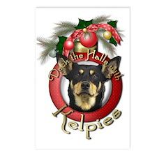 Christmas - Deck the Halls - Kelpies Postcards (Pa
