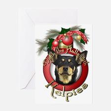 Christmas - Deck the Halls - Kelpies Greeting Card