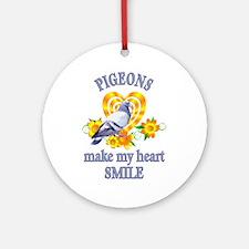 Pigeon Smile Ornament (Round)