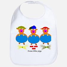 Three Little Pigs Bib