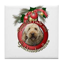 Christmas - Deck the Halls - GoldenDoodles Tile Co