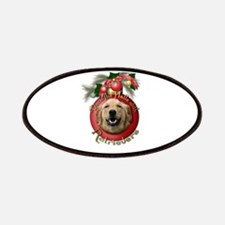Christmas - Deck the Halls - Retrievers Patches