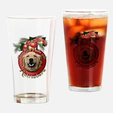 Christmas - Deck the Halls - Retrievers Drinking G